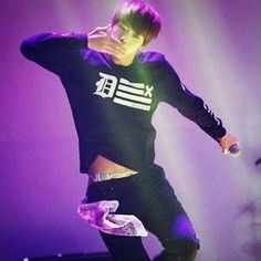 I see tummy, and I see undies. A rare occurrence coming from Jin!