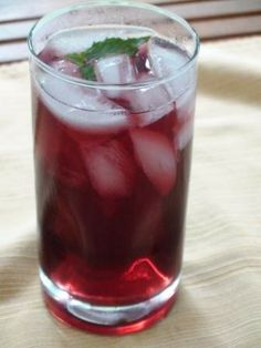 Blueberry and wild berry punch!
