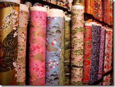 Love shopping for washi paper in Tokyo.