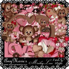 AmyMaire: NEW PTU Monkey Love