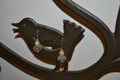 pindepummi: nontuttomaditutto: fai da te  bijoux  arte riciclo  foto  racconti  viaggi pensieri : Orecchini perle bianche