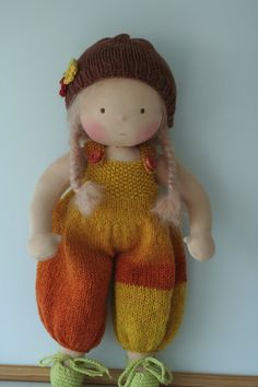 Waldorf doll Geraldine 16 by Peperuda dolls by danielapetrova