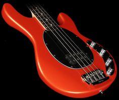 Ernie Ball Music Man StingRay Bass Tangerine Pearl