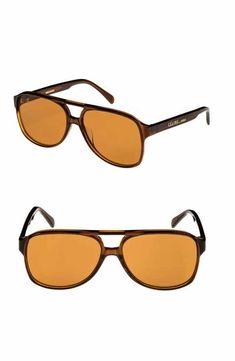 29f390e221 Céline 62mm Oversize Aviator Sunglasses