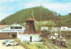 1972 - Restaurante Moinho do Vale e o Vapor Blumenau I