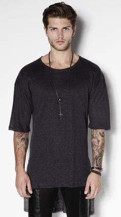 T Shirt Long Linen