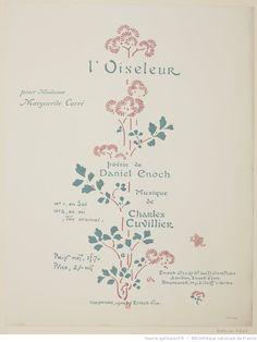 L'oiseleur : [estampe] / GA [George Auriol] [monogr.]