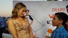 Diary of a Wimpy Kid: The Long Haul Red Carpet Interviews by Ryan R. Ryan R, Wimpy Kid, Long Haul, Film Review, Critic, Red Carpet, Interview, Kids, Toddlers