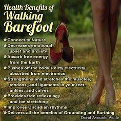 Fitness Matters #168: Health Benefits Of Walking Barefoot. - minimalism