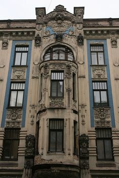 Art Nouveau Riga   Flickr - Photo Sharing!