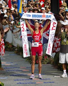 4 time World Ironman Champion, Chrissie Wellington. What a superstar! WOW! what an iron woman