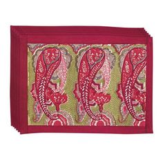 I pinned this Paisley Placemat - Set of 6 from the Flower Power event at Joss and Main!