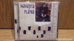 NAVAJITA PLATEÁ. DESDE MI AZOTEA. CD / CHRYSALIS - 1998. 12+1 TEMAS / CALIDAD LUJO.