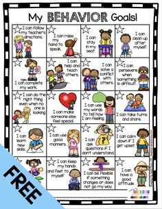 FREE Classroom Management Tools - Student Behavior Chart - STARS goals and awards - kindergarten - first grade - second grade - third grade - special ed - teacher resources - freebie printable kidsbehavior studentbehavior kindergarten 342273640432568810 Behavior Goals, Behavior Incentives, Student Behavior, Kids Behavior, Behavior System, Behavior Contract, Behavior Chart For Preschoolers, Cafeteria Behavior, Student Incentives
