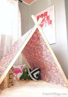 DIY Play Tent | Cape27Blog.com