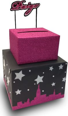 Graduation card box. Lisa's Gift Wrappers | Gift Card Boxes for ...