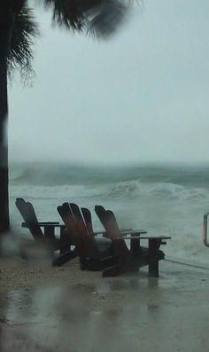 Stormy Beach. Oh yea!
