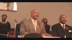 Pastor Williams-Deacon Day-Pt1-Winfred Sneed-A Charge to Keep-1-25-09, via YouTube.