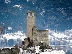 Risultati immagini per castello di chatelard inverno