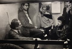 Allen Ginsberg, Peter Orlovsky, Barbara Rubin, Bob Dylan and Daniel Kramer. Allen Ginsberg, Beat Generation, Jack Kerouac, Hipsters, Bob Dylan First Album, Les Crane, Cafe Concert, Writers And Poets, Before Midnight