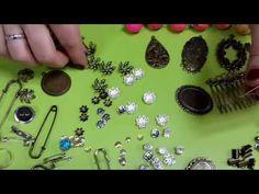 Фурнитура для бижутерии. Обзор фурнитуры и инструментов для сборки бижутерии - YouTube