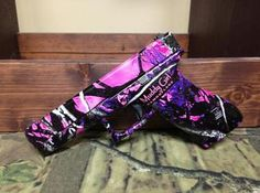 Glock Pistol Camo Dipped in Muddy Girl Camo Film