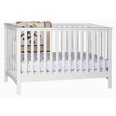 "Stork Craft Hillcrest 4-in-1 Convertible Crib - White - Storkcraft - Babies ""R"" Us"
