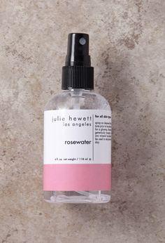 Julie Hewett Rosewater Toner Spray   Forever 21   #beautymark #lyoness