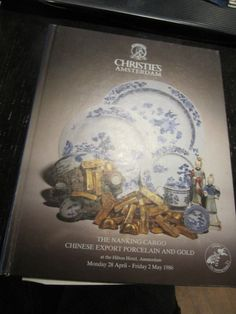 SCARCE CHRISTIE'S NANKING CARGO CHINESE EXPORT PORCELAIN APRIL-MAY 1986 RARE!!!