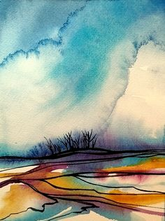 """Starting on some new paintings, but there's always time for smaller ones in between. 😊 #watercolour, 10x7"""" $75.CAD blassart.com/morning-brush-hour #art #artforyou #painting #watercolor #landscape #artcollectors #artlovers #artistsupportpledge #buylocal #buycanadian #womanartist #BlassArt #originalart Watercolor Paintings, Watercolor Landscape, Watercolours, Artist Art, Original Art, Inspiration, Biblical Inspiration, Water Colors, Watercolour Paintings"""