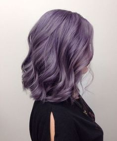 Smokey Lavender Hairtstyles 2018 for Women