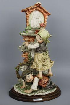 "Giuseppe Armani Figurine ""Flowers For Madonna"" MINT WorldWide"