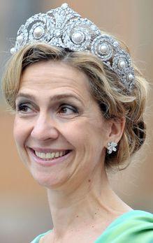HRH Infanta Cristina of Spain
