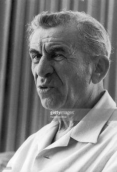 1971: Headshot of mobster Meyer Lansky, Israel.