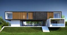 3D visualization of a luxury house in Morelia, Mexico
