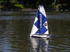 MIRABAUD RC au 1/36 soit 60 cm de long Radios, Rc Model, Courses, Yachts, Ship