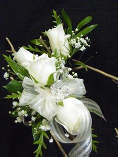 by Floral Expressions of Chapel Hill #Prom #Flowers #Bodyflowers #Livingjewelry