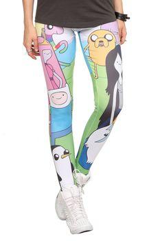 Adventure Time leggings #pajamas