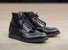 Time-Tested, The Red Wing 6-inch Postman. Based on one of Red Wing's best selling shoes of all time.
