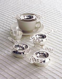 Fancy tea strainers