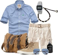 Cargo Short and Beach Shirt for men