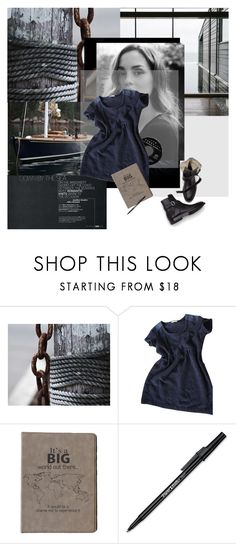 """""""postcard from far away"""" by dear-inge on Polyvore featuring By Zoe and Paper Mate"""