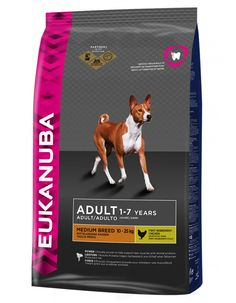 Eukanuba Adult Medium Breed Maintenance Dry Dog Food for sale online Dog Food Ratings, Dog Food Reviews, Large Breed Dog Food, Large Dog Breeds, Dog Food Comparison, Dog Food Recall, Dog Food Container, Dog Food Brands, Dog Food Storage