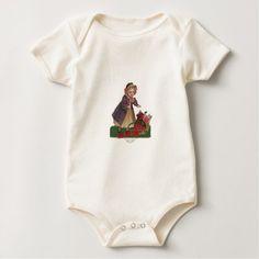 A Valentine Message Baby Bodysuit - Saint Valentine's Day gift idea couple love girlfriend boyfriend design