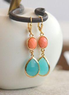 He encontrado este interesante anuncio de Etsy en https://www.etsy.com/es/listing/153038945/turquoise-teardrop-and-bright-coral