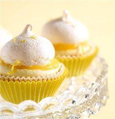 Zitronen-Baiser-Cupcakes - Erfrischende Cupcakes für die Party