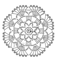 centrinho-porta-copos-flor-april-crochet-mini-mat-coaster-chart-grafico.jpg (533×563)