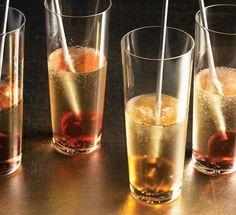 Liquor lollipops with sparkling wine recipe