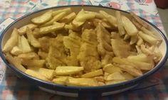 Cotolette di pollo e patate al forno