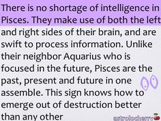 Pisces evolution - This might be because we are the last sign of the zodiac - hmmm Aquarius Pisces Cusp, Pisces Traits, Astrology Pisces, Pisces Love, Zodiac Signs Pisces, Pisces Quotes, My Zodiac Sign, Zodiac Facts, Astrology Signs